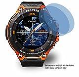 4ProTec 2x ANTIREFLEX matt Schutzfolie für Casio WSD-F20A Displayschutzfolie Bildschirmschutzfolie Schutzhülle Displayschutz Displayfolie Folie