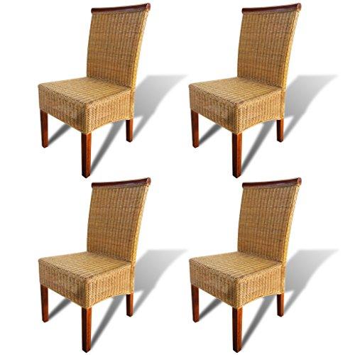 Festnight 4 Stk. Set Esszimmerstühle Essstuhl Essstühle, Gebraucht Gebraucht  Kaufen Wird An Jeden Ort