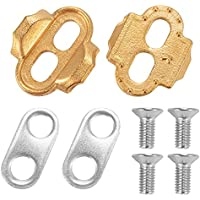 ROCKBROS Premium Cleats para pedales de bicicleta Crankbrothers Eggbeater Candy Smarty Acid Mallet CS478