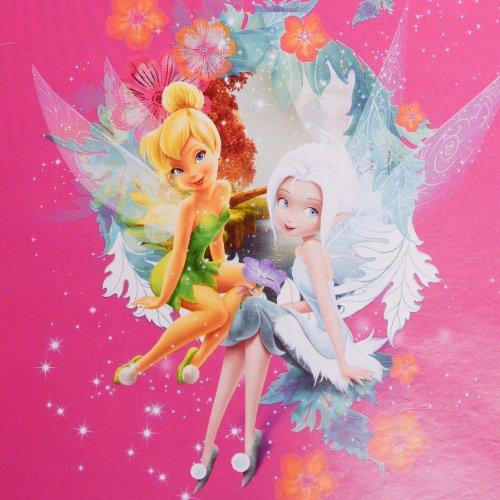 Kinder Picknickdecke Disney Fairies 130 x 150 cm beschichtet