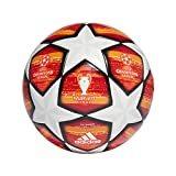 adidas Finale M TTRN Soccer Ball, Hombre, (Blanco/Active Scarlet Red/Bright Orange/Solar Gold/Negro), 5