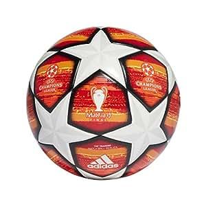 adidas Performance UCL Finale Madrid Top Trainingsball weiß/orange, 4