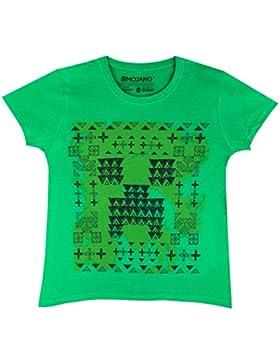 Minecraft Mädchen Minecraft T-Shirt Kurzarm