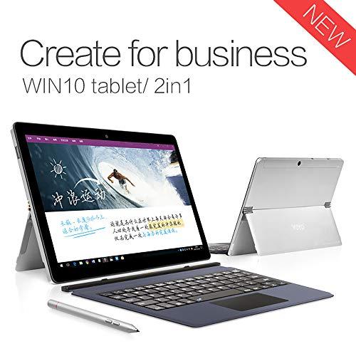 HKFV Laptop (10,1 Zoll) Notebook Win10 1,5 GHz 8 GB RAM 128G ROM 10,1 Zoll 1920 x 1200 Auflösung Tablet PC (Wifi) i3 Keyboard - 1,5 Ghz Notebook