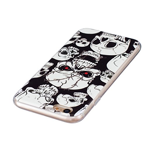 GHC Cases & Covers, Für iPhone 6 & 6s Noctilucent Sika Deer Pattern IMD Kunstfertigkeit Soft TPU Back Cover Case ( SKU : Ip6g0130g ) Ip6g0130h