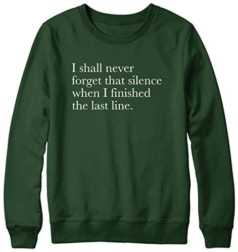 Je ne jamais oublier que Silence Noel Gallagher Hipster cocaïne Pull pour femme Vert - Forêt