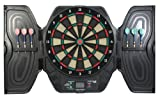 Best Electronic Dartboards - Carromco Electronic Dartboard Cyclone 401 Cabinet, 93030 Review