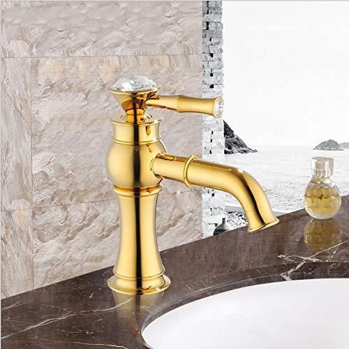 Makeyong Kristall Wasser Mischer Messing Bad Waschbecken Mischer Wasserhahn Wasserhahn Wasserhahn Mischbatterie Wasserhahn Wasserhahn Wasserhahn - Wasser-bad-kristalle