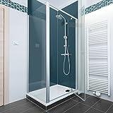Teal Farbige Acryl Dusche Panel. Einzigartige Hard Gloss Coated lang Life Finish. Einfach zu reinigen. 2050mm x alle Duschtasse breiten, acryl, blaugrün, 1200mm X 2050mm