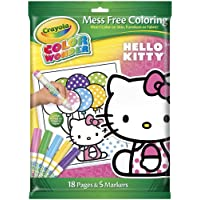 Crayola Color Wonder Coloring Kit-Hello Kitty