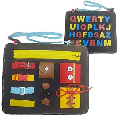 GSNML Tablas Vestir Tablero Fieltro Montessori Aprenda