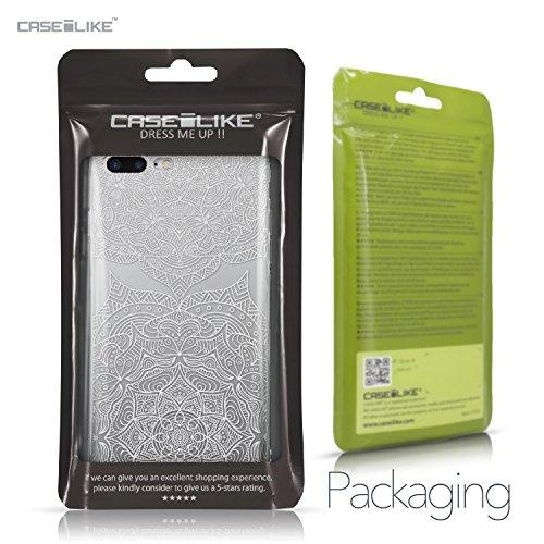 CASEiLIKE iPhone 7 Hülle, iPhone 7 TPU Schutzhülle Tasche Case Cover, Comic Beschriftung 2914, Kratzfest Weich Flexibel Silikon für Apple iPhone 7 Mandala-Kunst 2303