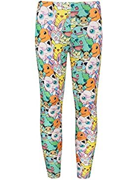 Pokemon Collage Girl's Leggings