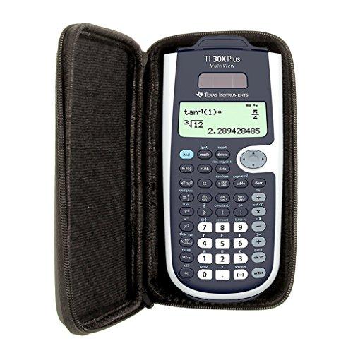 SafeCase Schutztasche für Taschenrechner von Texas Instruments, für Modell: TI 30 X Plus MV
