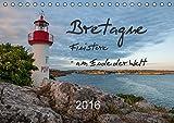 Bretagne: Finistère - am Ende der Welt (Tischkalender 2016 DIN A5 quer): Eine Reise durch die Südbretagne (Monatskalender, 14 Seiten ) (CALVENDO Orte)