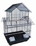 YML 5844BLK Pagoda Small Bird Cage in Black