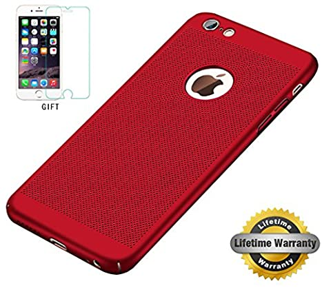 Coque iPhone 6/6s, PC Matière avec, STANAWAY[Ultra Mince Léger][Protection Verre