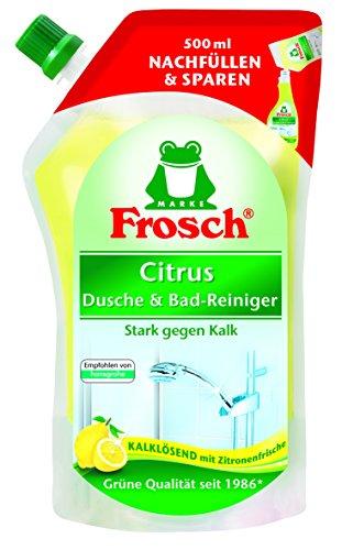 Rana Citrus ducha & baño limpiador deshumidificación, 5unidades (5x 500ml)