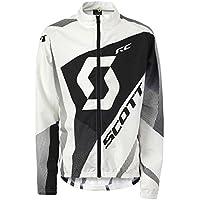 Scott Windbreaker JR RC Fahrradjacke Black / White