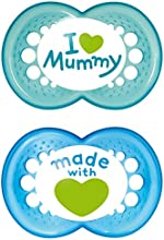 MAM Original I love Mummy 6-16 Mon., Boy, Silikon