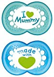 MAM 66736711 - Original Silikon I love mummy 6+ boy