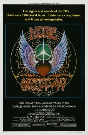 MORE AMERICAN GRAFFITI - HARRISON FORD – Imported Movie Wall Poster Print – 30CM X 43CM (Graffiti American Ford Harrison)