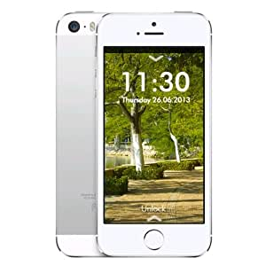 smarphone apple iphone 5s 32 go reconditionn argent high tech. Black Bedroom Furniture Sets. Home Design Ideas