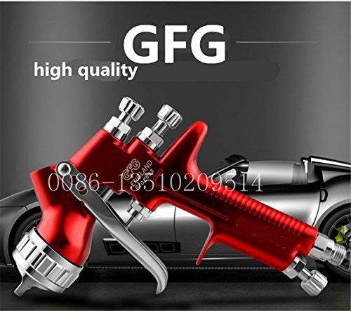 Edición limitada de Oro DeVilbiss GFG TT Profesional spray pistola de pulverización HVLP pistola automática, spray de 1,3 mm y 1,4 mm Auto Premium Pistola de pulverización
