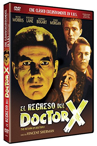 El Regreso del Doctor X v.o.s. 1939 DVD The Return of Doctor X [Edizione: Spagna]