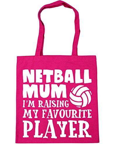 hippowarehouse-netball-mum-im-raising-my-favourite-player-tote-shopping-gym-beach-bag-42cm-x38cm-10-