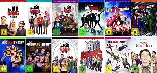 The Big Bang Theory Staffel 1-11 + Young Sheldon Staffel 1 [DVD Set] - 1 Big-bang-dvd-staffel