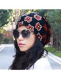 QIER-MZ Casquillo De La Turbante Sombrero De La Moda Gorro De Aire Calvo  Gorro De Mujer Embarazada… 774fb91c30a
