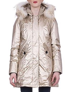 Freedomday Chamois Parca tela laminado capucha dorado