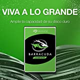 Seagate Barracuda - 1 TB internal hard drive (3.5 , 64 MB SATA cache from 6 GB / s up to 210 MB / s), silver,ST1000DM010