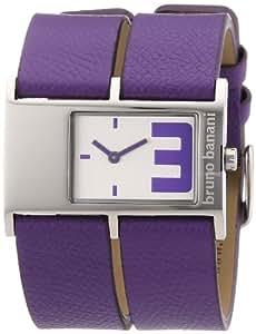 Bruno Banani Damen-Armbanduhr Calix Ladies Analog Leder BR21041