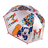 Regenschirm bubble Mickey Mouse (45cm)