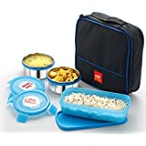 Cello Max Fresh Perfect 3 Container Lunch Box With Bag