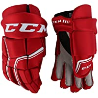 CCM Quicklite 250 Hockey gloves SR - 14 - Red/White
