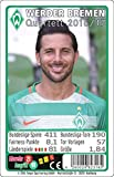 Teepe 23165 Sportverlag SV Werder Bremen Quartett 16/17 Kartenspiele
