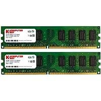 Komputerbay - Módulo de memoria 8GB 4GB DDR2 533MHz 2X PC2-4300 (240 PIN) DIMM Desktop-PC2 4200