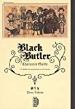 Black Butler character guide, tome 1