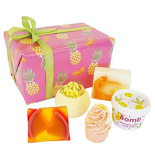 Bomb Cosmetics Völlig vollkommen tropisch, handgefertigter Geschenk-Pack -