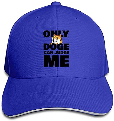 Baseball Caps Doge Can Judge Me Unisex Sandwich Cap Trucker Hat gorgeous31708