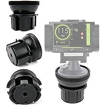DURAGADGET Base Para Soporte Para GPS Coyote Mini / S / NAV - ¡Ideal Para Diferentes Tipos De Soporte!