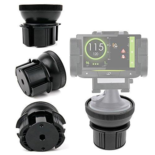 DURAGADGET Base Para Soporte Para GPS Coyote Mini/S/NAV - ¡Ideal Para Diferentes Tipos De Soporte!