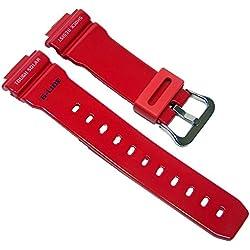 Ersatzband Uhrenarmband Resin Band rot passend zu Casio G-Shock GWX-5600C 10443275