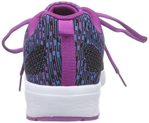 KangaROOS Unisex-Erwachsene Kangacore Knit T Hallenschuhe Blau (navy/violet 468)