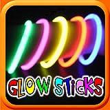 HOT GLOW - Neon Glow Sticks - Assorted C...