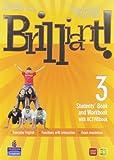 Brilliant! Ediz. pack. Student's book-Workbook-Culture book. Per la Scuola media. Con DVD-ROM. Con espansione online: 3