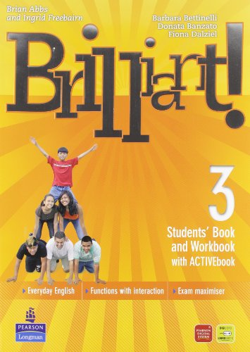 Brilliant! Ediz. pack. Student's book-Workbook-Culture book. Per la Scuola media. Con DVD-ROM. Con espansione online: 3